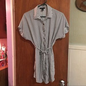 F21 shirt dress sz L